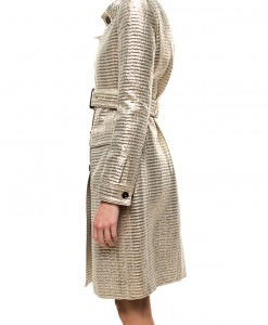 El Dorado, metallic trench coat by Burberry -3947