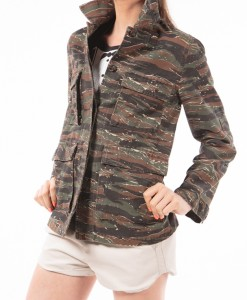 Boot Camp, camo printed jacket by APC-4041