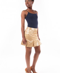 Magic Sun Glow, Golden Colored Skirt By Nanette Lepore-3768