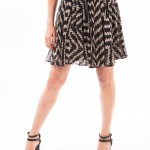 Uh Oh Spotted, printed frill skirt by Milly-3770