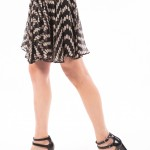 Uh Oh Spotted, printed frill skirt by Milly-3772