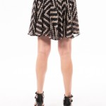 Uh Oh Spotted, printed frill skirt by Milly-3771