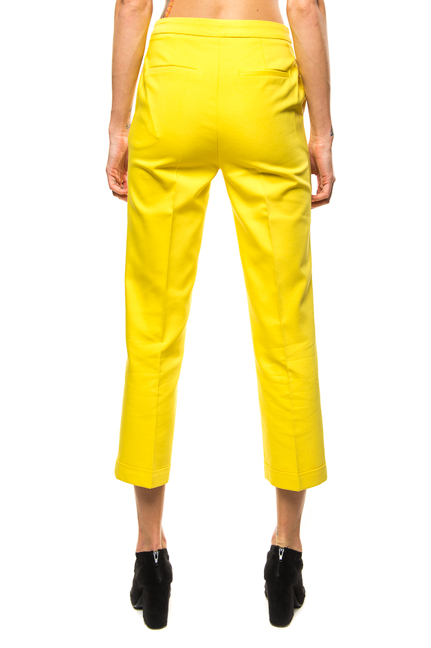 Tuscan Daylight, yellow high waisted capri by HoClo Rentals-3943