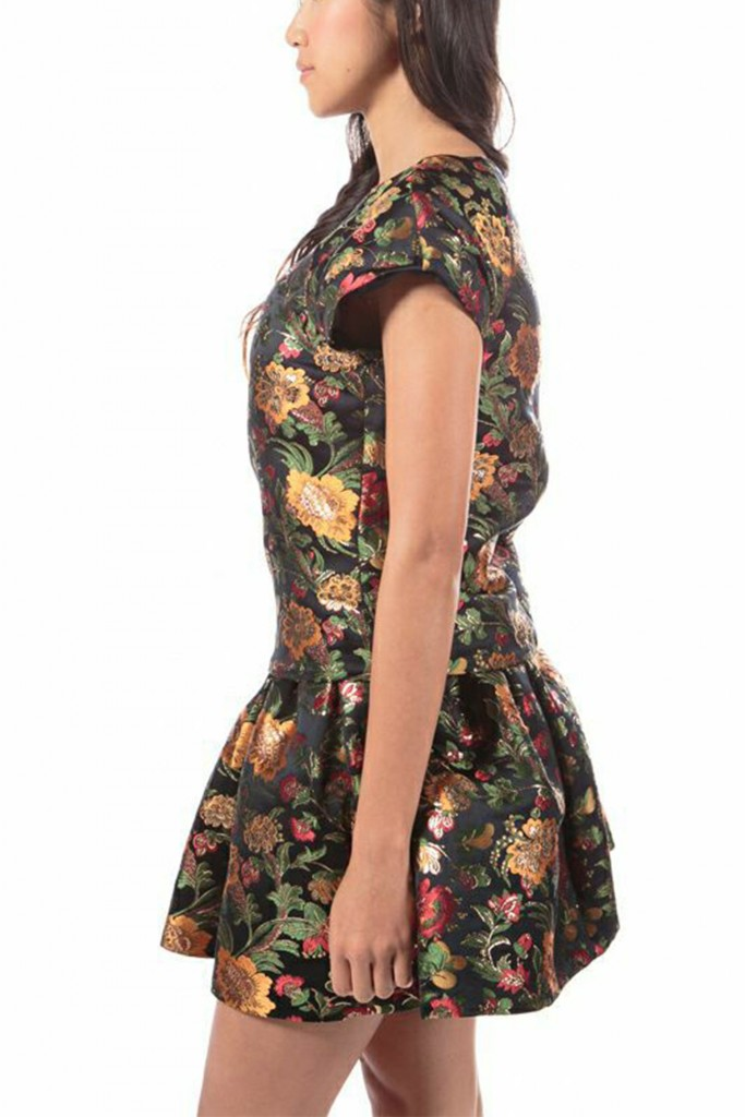 Opulent Flowers, floral printed top by Alice + Olivia-4722